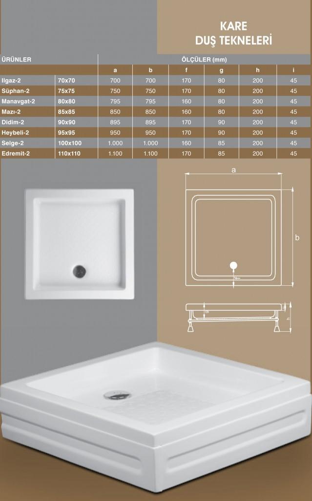 Kare Duş Tekneleri, Duşakabin, Duşakabin Tamiri - Yako Banyo, 0212 651 55 75, Banyo Dolapları, Banyo Dolabı, istanbul, Bahçelievler