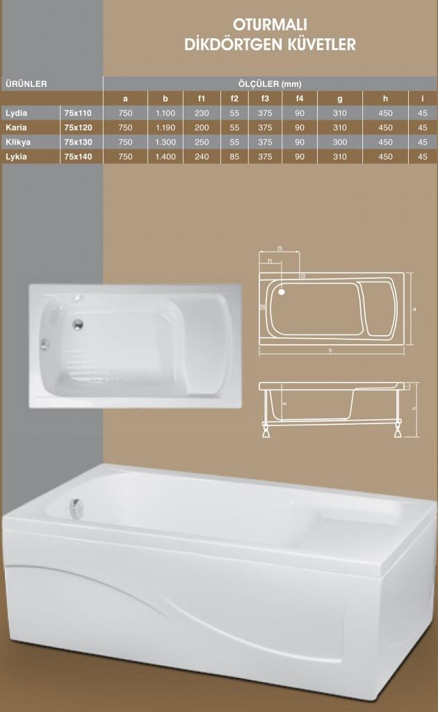 Oturmalı Dikdörtgen - 1, Duşakabin, Duşakabin Tamiri - Yako Banyo, 0212 651 55 75, Banyo Dolapları, Banyo Dolabı, istanbul, Bahçelievler