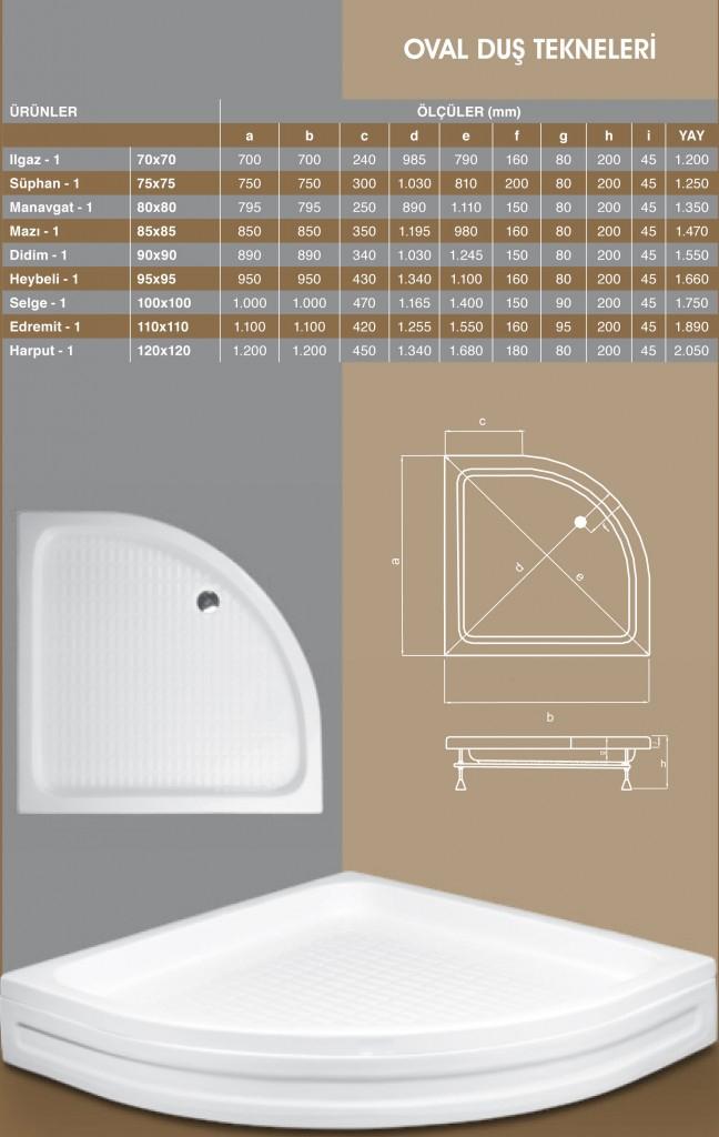 Oval Duş Tekneleri, Duşakabin, Duşakabin Tamiri - Yako Banyo, 0212 651 55 75, Banyo Dolapları, Banyo Dolabı, istanbul, Bahçelievler