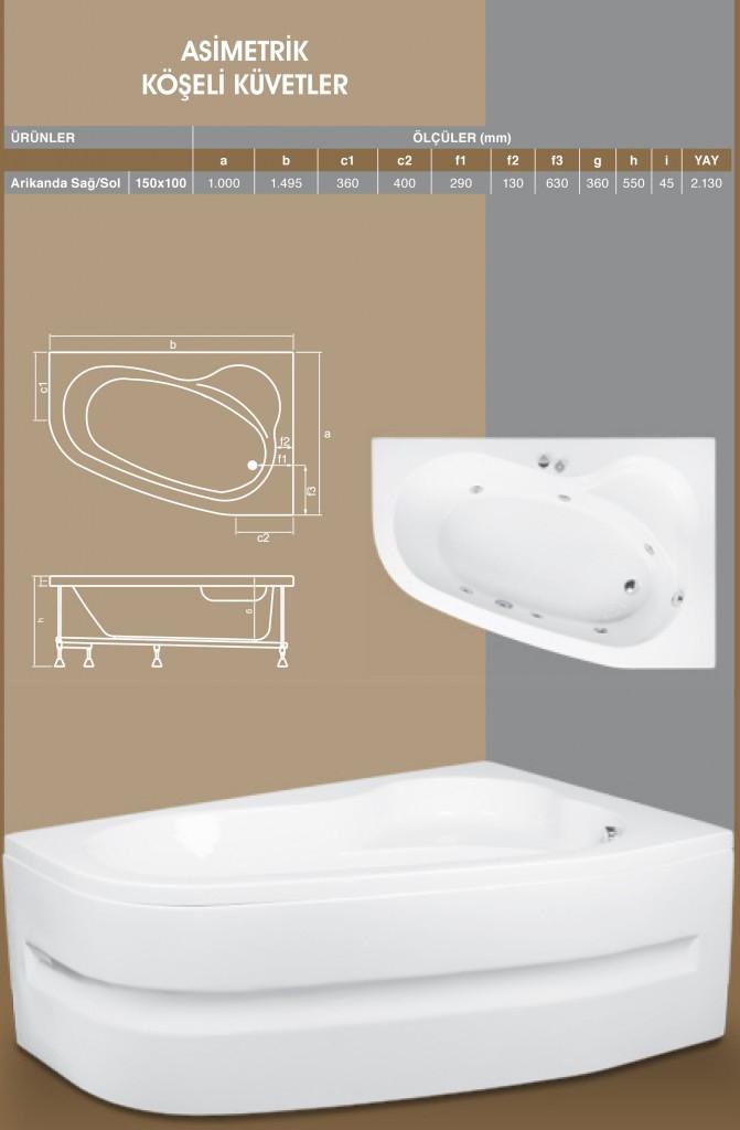 Asimetrik Köşeli - 1, Duşakabin, Duşakabin Tamiri - Yako Banyo, 0212 651 55 75, Banyo Dolapları, Banyo Dolabı, istanbul, Bahçelievler